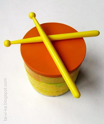 барабан из воздушного шарика