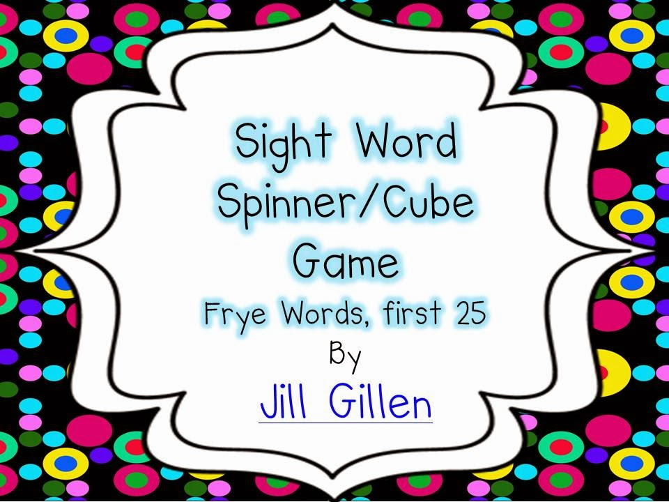 First 25 sight words