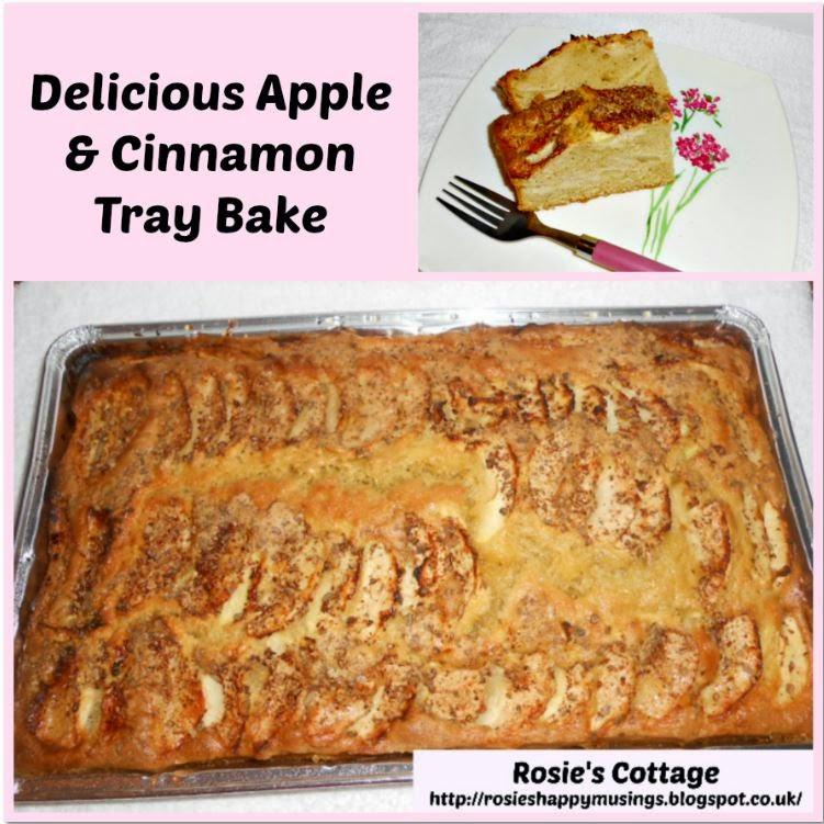 Delicious Apple & Cinnamon Tray Bake Recipe