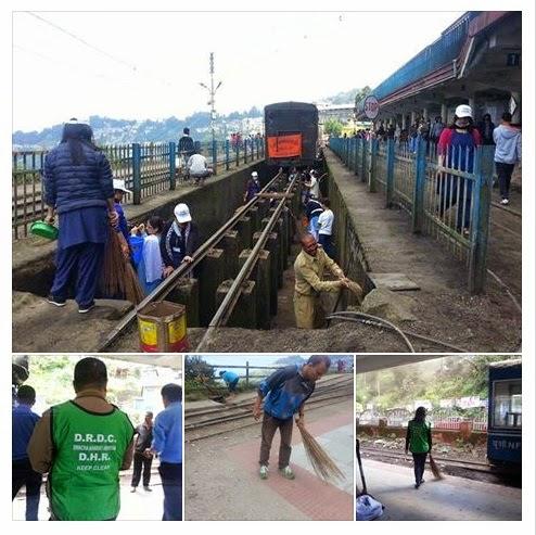 Darjeeling Participates Modi's Swachh Bharat Abhiyan