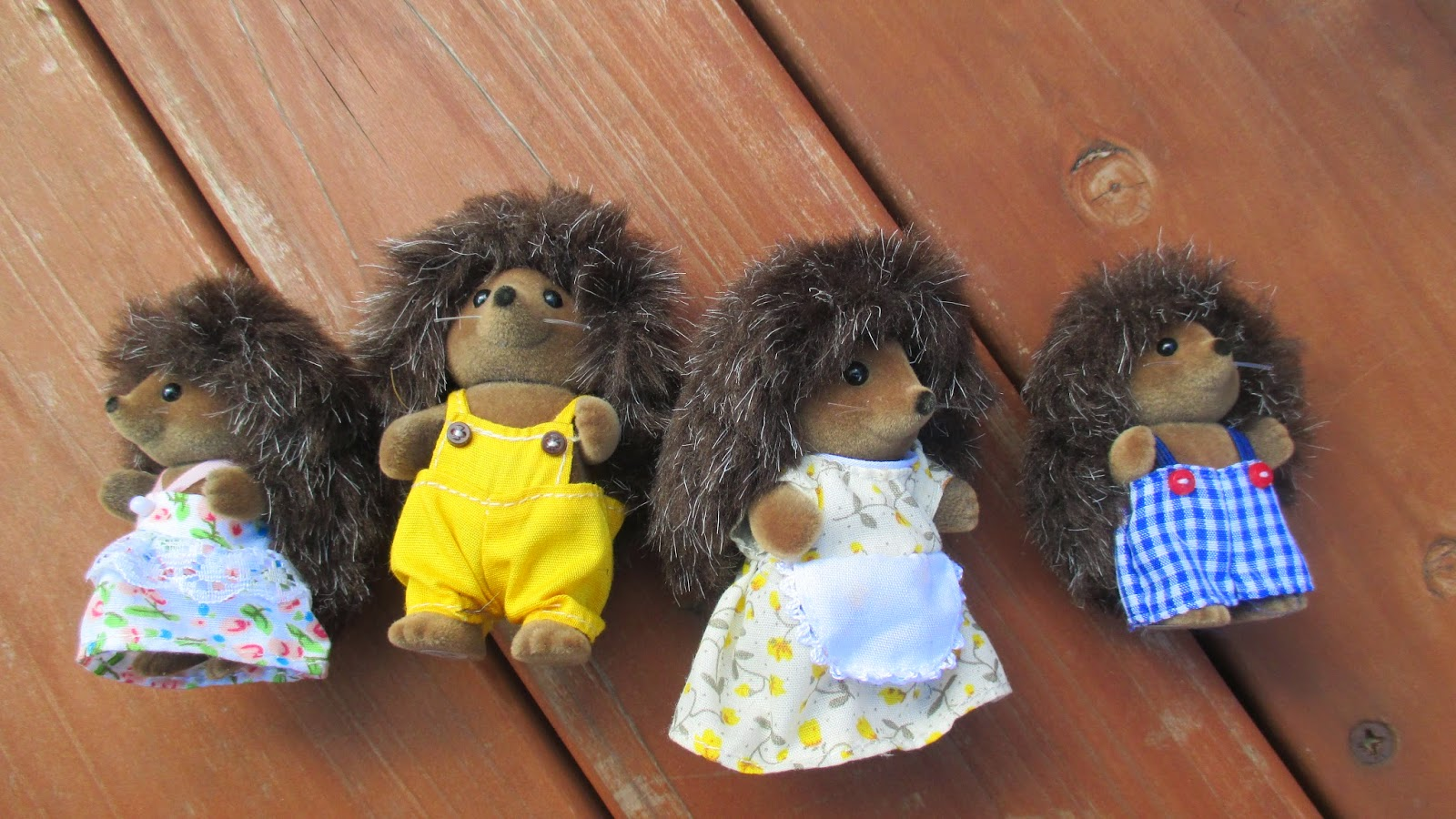 Sylvanian family hedgehogs