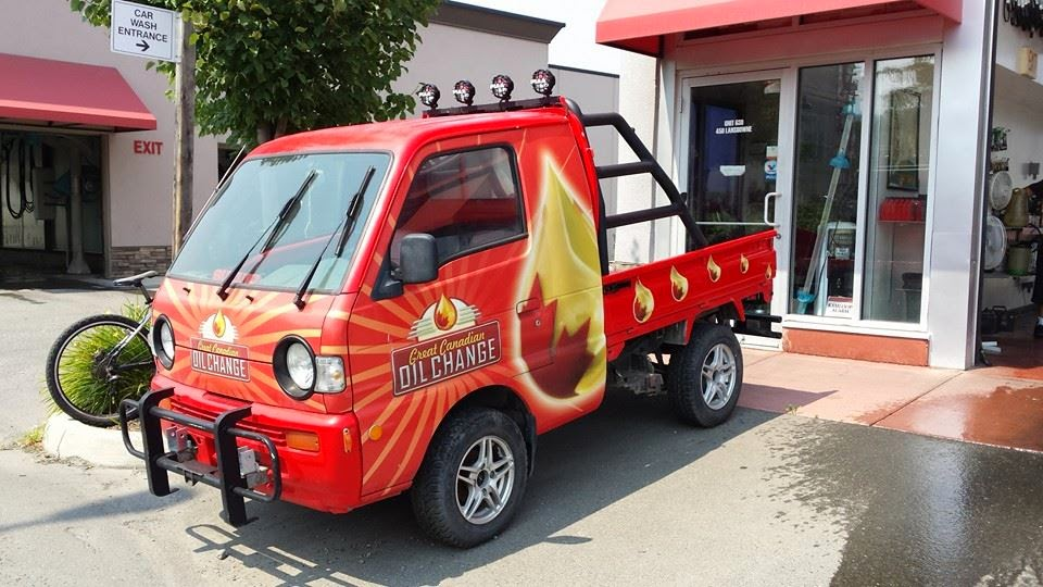 Suzuki Carry at Great Canadian Oil Change