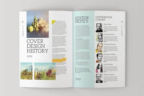 15 Magazine Templates to Help You Achieve Publication Awesomeness ...