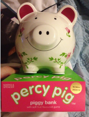 percy pig piggy bank