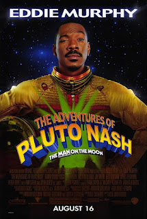 Eddie Murphy Adventures of Pluto Nash horrible movie poster