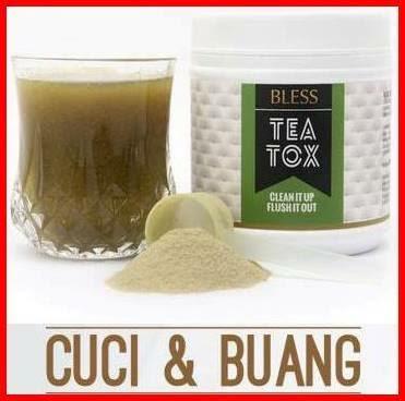 TeaTox Cuci dan Buang