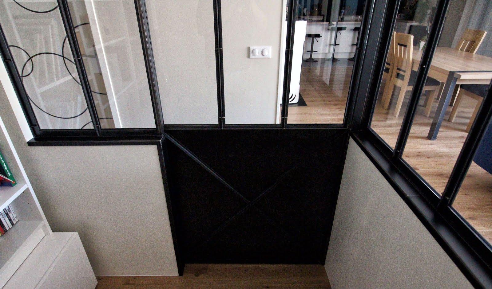 Verriere interieure porte coulissante best portes de placards portes suspendues d verriere - Verriere interieure brico depot ...