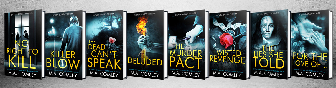 M A Comley, New York Times and USA Today Bestselling Author