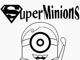 Drawing Minion Coloring Pages