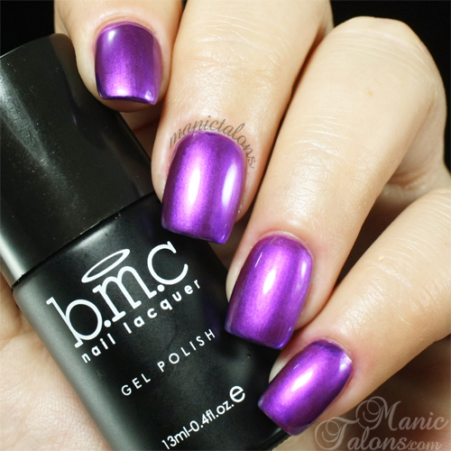 Bundle Monster Photo Op Metallic Gel Polish Swatch