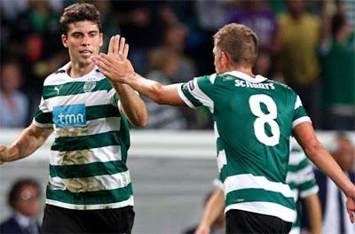 Sporting Lisbon 2 - 1 SS Lazio (2)