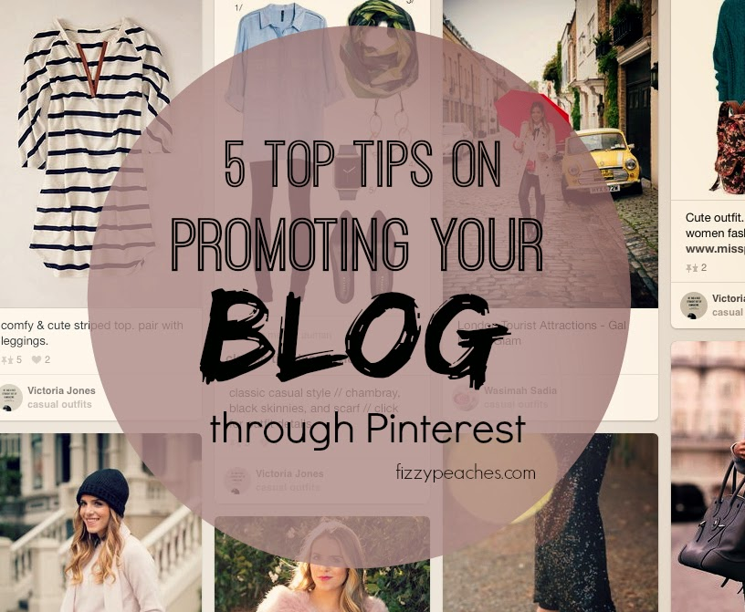 5 Top tips on promoting your blog through Pinterest