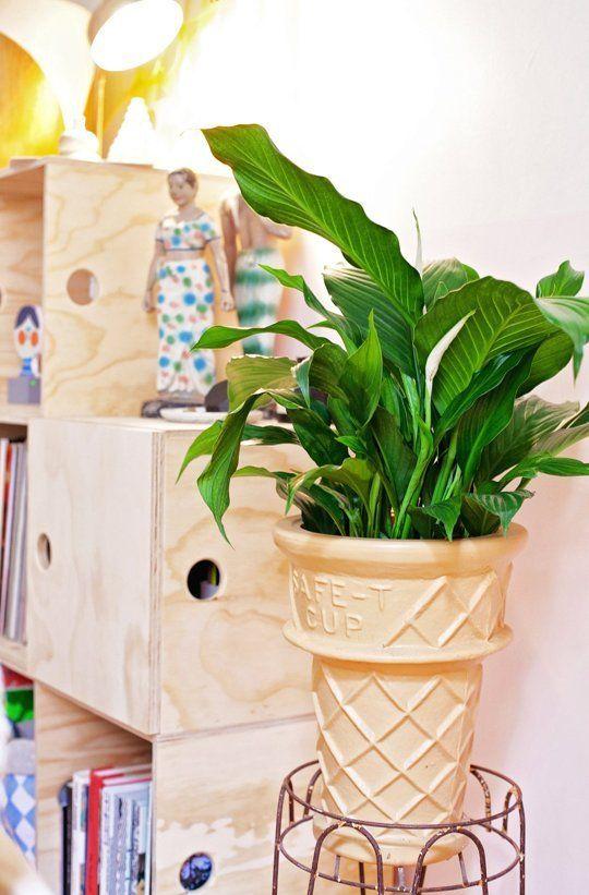 la fabrique d co plantes et pots originaux pour f ter le printemps. Black Bedroom Furniture Sets. Home Design Ideas