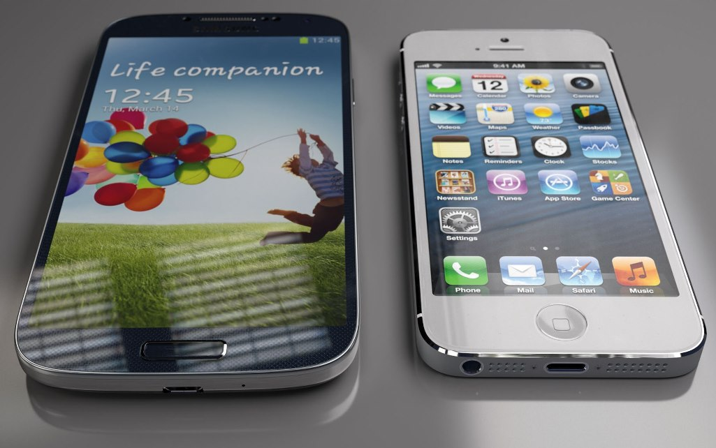 Perbandingan_Apple_iPhone_5_Vs_Samsung_Galaxy_S4