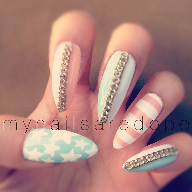 absolutley inlove with the nail designs from sara le s nail art tumblr