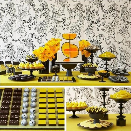 candy buffet wedding