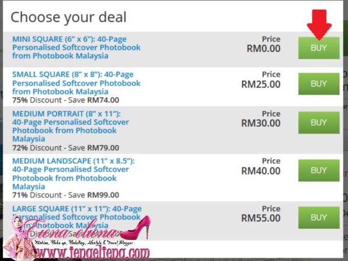 Photobbok percuma berharga RM79
