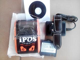 PRINTER KASIR 58MM PORTABLE BLUETOTH USB IPOS-IMP001BU IPOS-IMP002BU