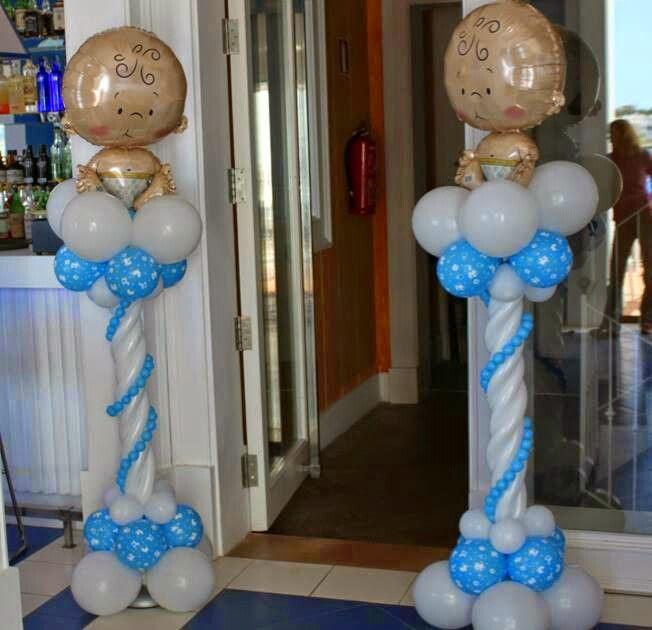 Columnas de Globos Para Baby Shower, parte 2