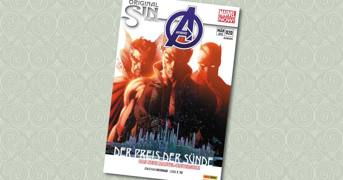 Avengers Comic 20