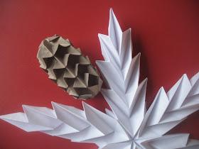 origami structuri in zig-zag