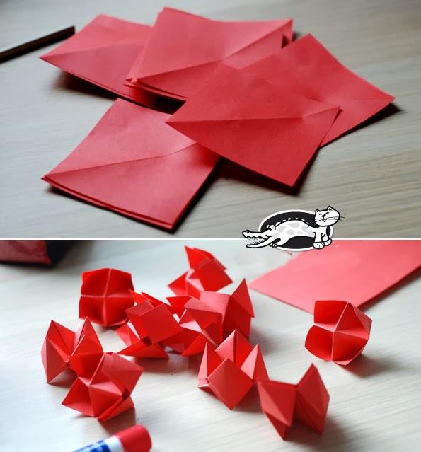popular diy crafts blog how to make a paper fortune
