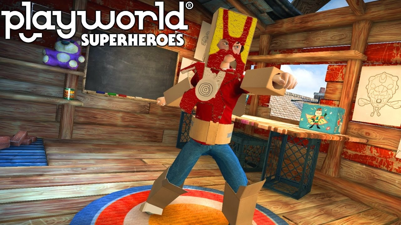 Playworld Superheroes v1.0 [Link Direto]