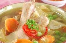 Resep praktis (mudah) sup kembang tahu spesial (istimewa) enak, segar, gurih, lezat