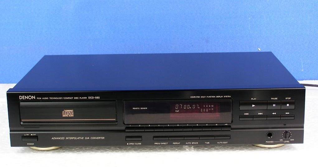 Denon DCD-580 - CD Player | AudioBaza