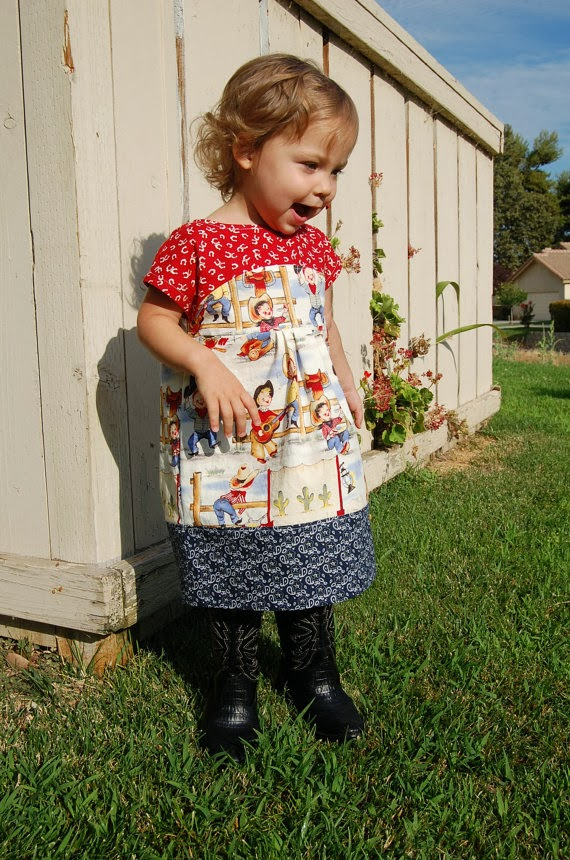 Rodeo Dress Maggie Mae by JaimeSews