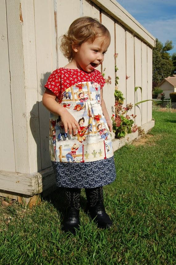 Rodeo Dress Maggie Mae by JaimeSews
