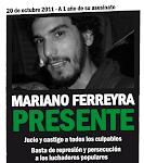 Justicia por Mariano Ferreyra!