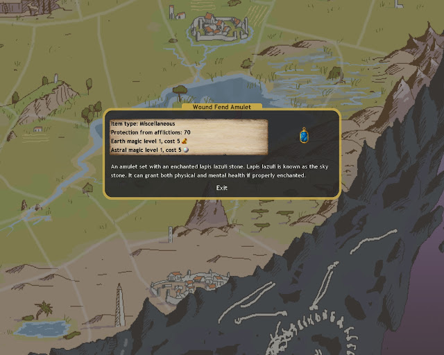 Dominions 4 - Amulet of Protection Description