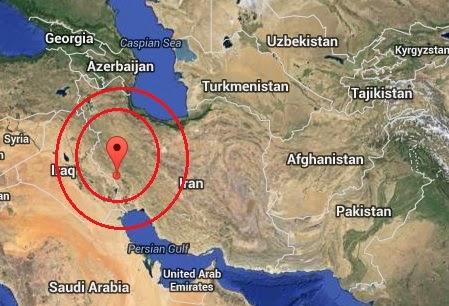 Magnitude 4.5 Earthquake of Dehloran, Iran 2014-08-28