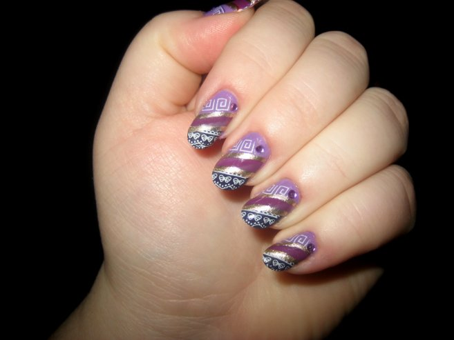 Cute bug nail art designs