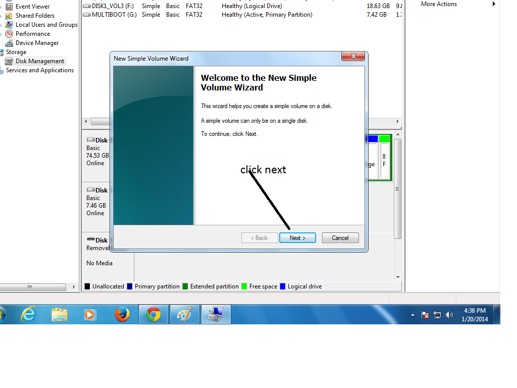 how to partition hard disk drive
