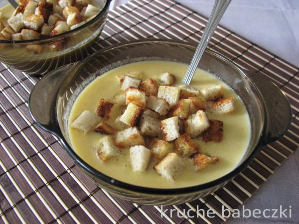 Pyszna zupka z kukurydzy :))