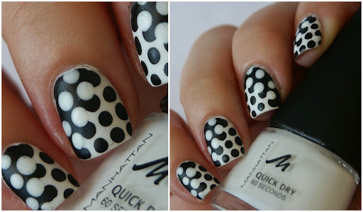 Interlocking Dot Nails with Pictorial
