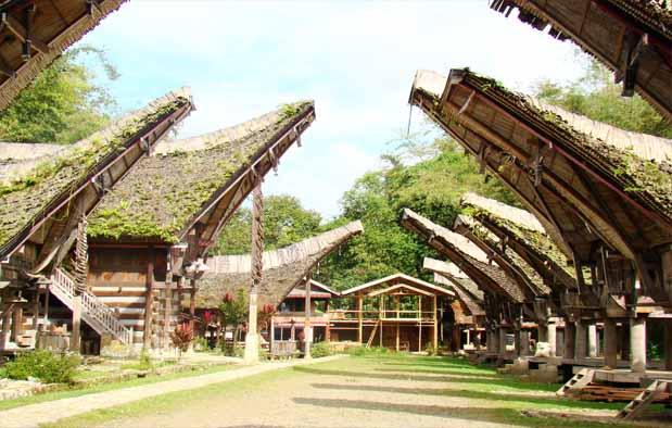 Indonesia mempunyai bermacam-macam budaya yang sangat menarik Filosofi Rumah Adat Tongkonan Tana Toraja dari Sulawesi Selatan