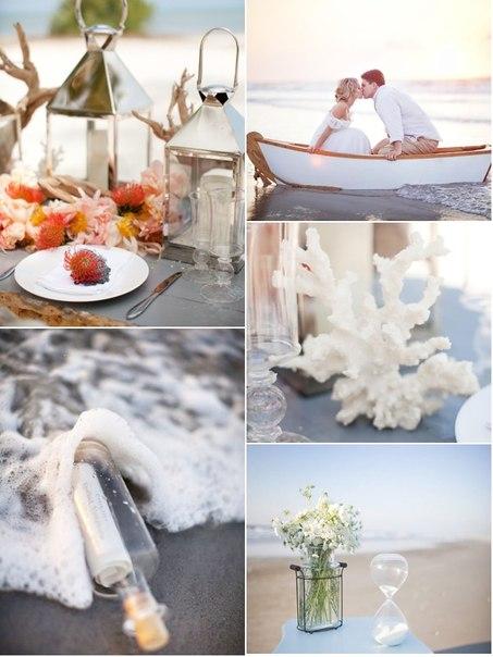 Home decorating ideas beach wedding theme for Seaside wedding theme ideas