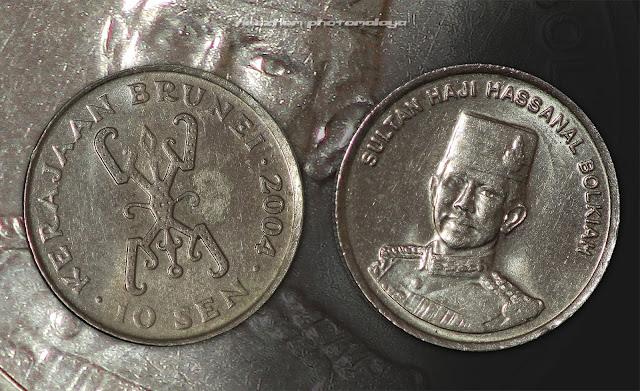 10 sen 1981 Brunei coin