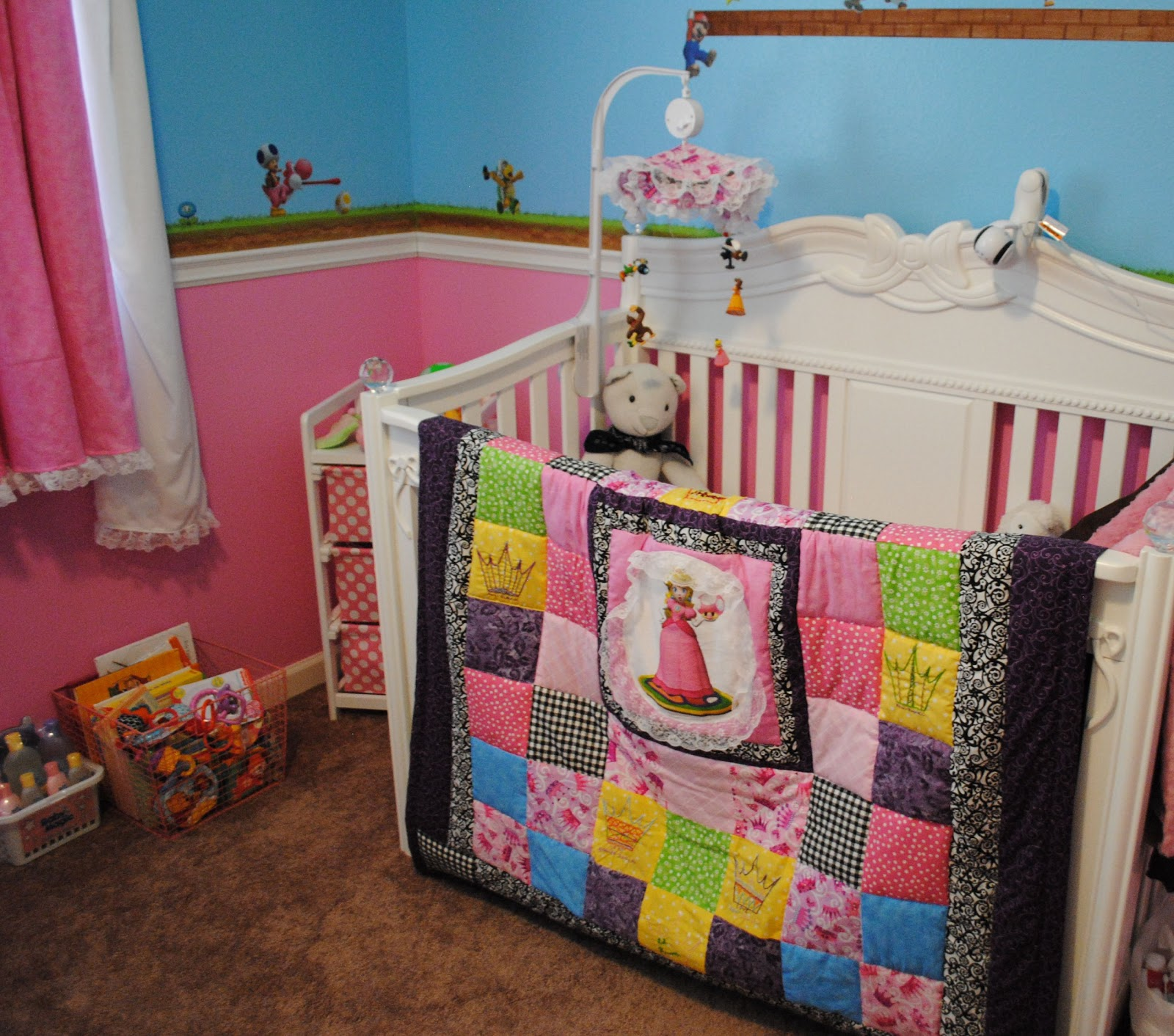 girl cribs pvgf gallery peach photo il listing baby crib bedding catcher fullxfull dream random white arrows