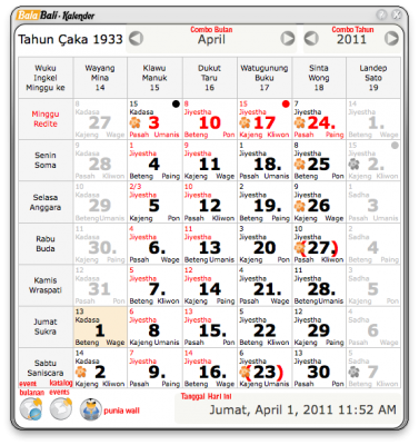 Download Kalender Bali DIgital (Balabali Kalender) ~ artopraph