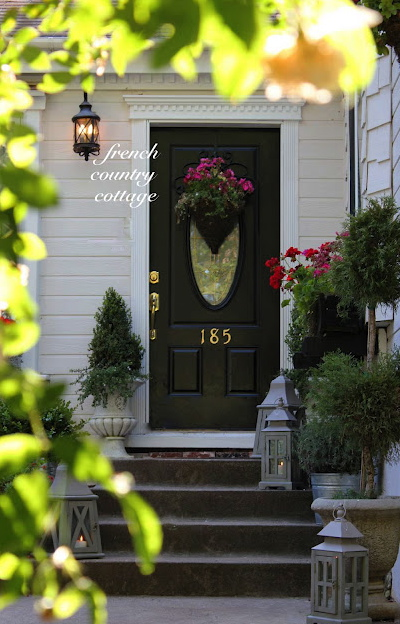 Front Door Basket Giveaway French Country Cottage