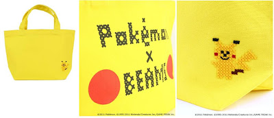 BEAMS Pokemon Tote Bag