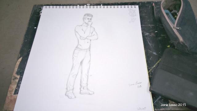 Dibujo de hombre