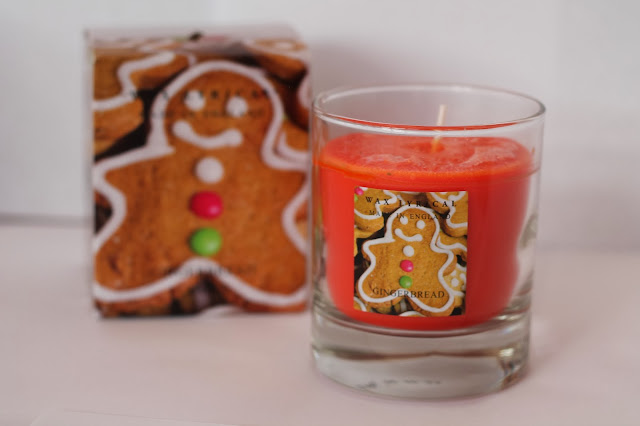 Gingerbread Man Presents Wax Lyrical Candle