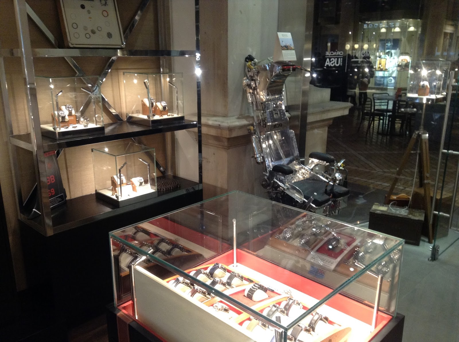 Awildermode My Visit To Bremont Boutique Royal Exchange