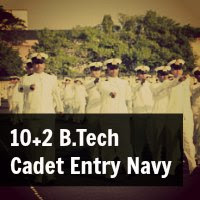10+2 B.Tech Cadet Entry Notification Navy