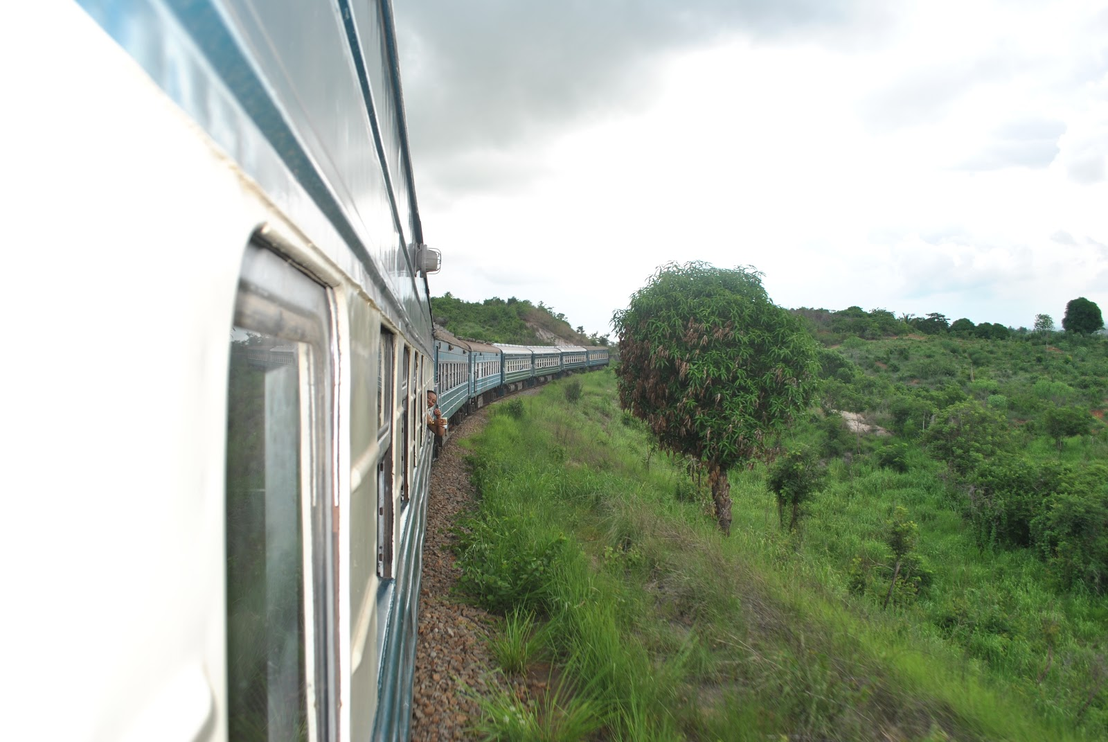 TAZARA Special Train to Selous